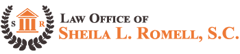 Law Office of Sheila L. Romell, S.C. Header Logo
